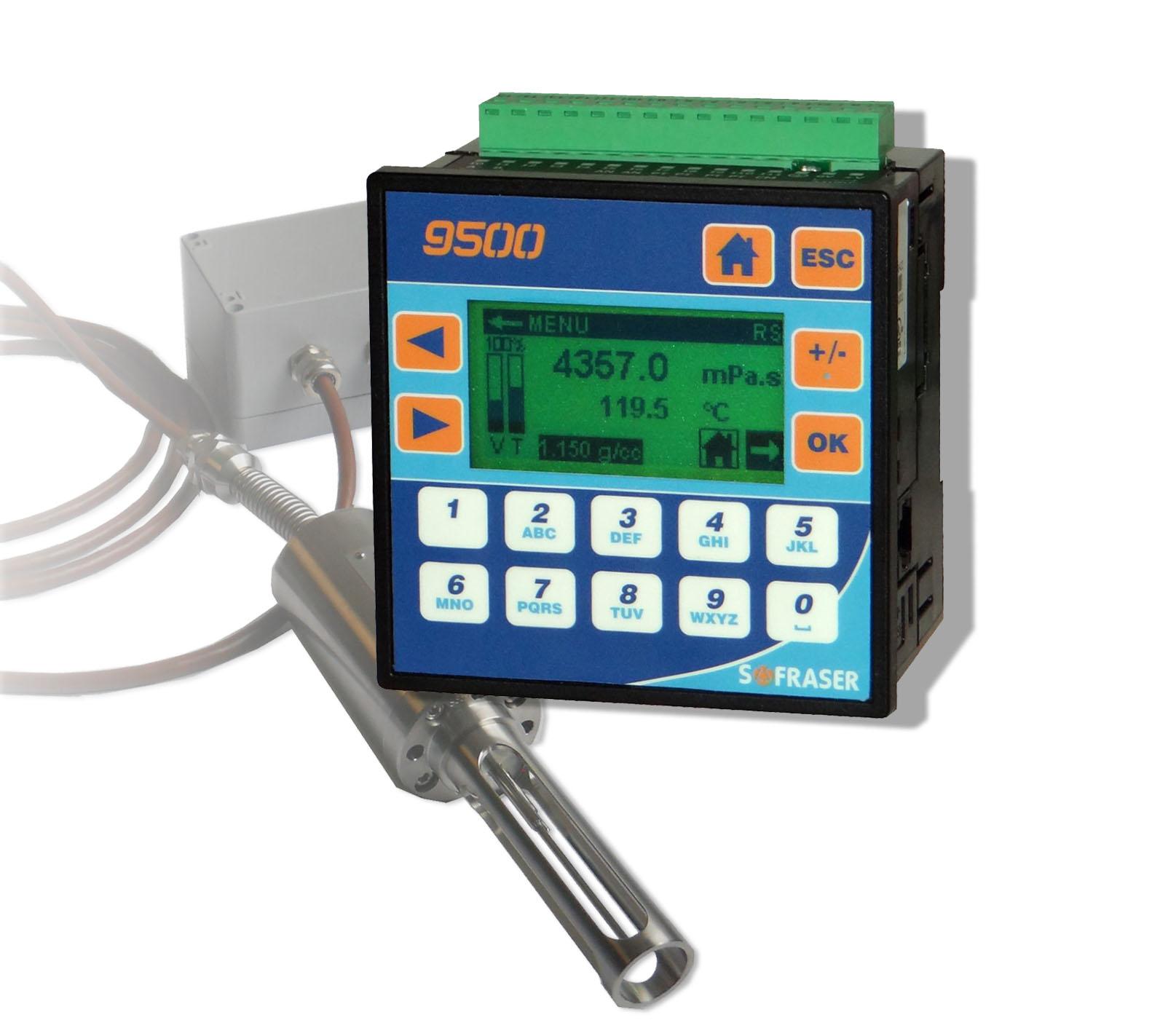 9510 Viskosität und Temperaturmessungen